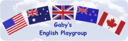 Logo Gaby's English Playgroup